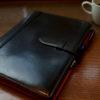 週末はシステム手帳をメンテン GANZO シンブライドルシステム手帳